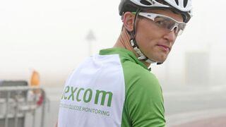 Velobraucējs ar Dexcom kreklu